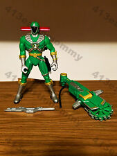 "Power Rangers Lightspeed Rescue Mega Battle ""Green Ranger"" (Complete)"