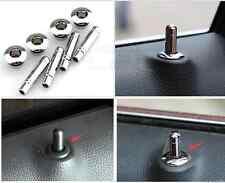 Steel Matt Interior Door lock pins cover trim For Chevrolet Cruze 2012 TO  2015
