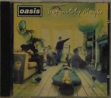 OASIS 'DEFINITELY MAYBE' 11-TRACK CD