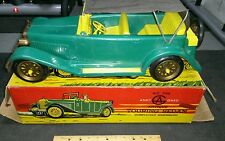 Vintage toy car truck touring sedan andy gard toy made in USA general molds co.
