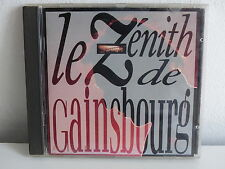 CD ALBUM Le zénith de SERGE GAINSBOURG838162 2