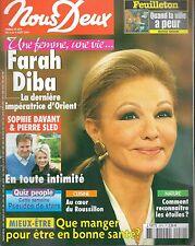 ▬► NOUS DEUX 2979 FARAH DIBA_Sophie Davant