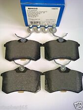 AUDI A3/A4 REAR BRAKE PAD/PADS SET/KIT PAGID T5075 - 1J0698451S/8E0698451K