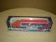 VINTAGE ERTL 1995 #T250 TRACTOR TRAILER COCA-COLA 1/64 SCALE HIGHLY DETAILED