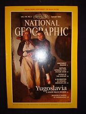 National Geographic August 1990  - Yugoslavia