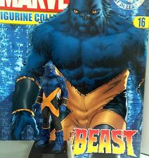 Classic Marvel Figurine Collection BEAST XMEN ISSUE 16 EAGLEMOSS RARE MIB SALE!!