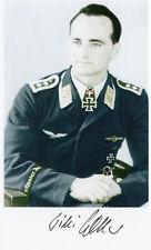 Luftwaffe WWIi Stuka 1058 missions,86 tankkills,Stalingrad,Kursk,W.Noller SIGNED