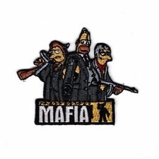 SIMPSON MAFIA CARTOON KID Embroidered Patch Iron Sew Logo Hardcore Emblem Custom