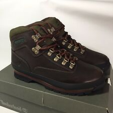 Timberland Men's 95100 Euro Hiker Boots Brown, Size 10
