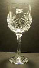 White Star Line, RMS Titanic, Crystal Wine Glass, 1900's Style Replica.