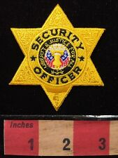 Police / Security Officer Patch ~ Generic ~ Costume/Cosplay Liberty Bell 64Z8