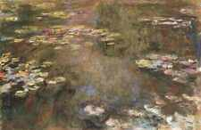 280 Water Lily Pond 1917 1919 A4 Print