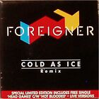 "FOREIGNER 'COLD AS ICE' UK LIMITED EDITION GATFOLD PICTURE SLEEVE 2 x 7"" SINGLE"