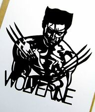 "WOLVERINE. X-MEN Original Pop Art,Marvel 5""X 5"" inches, vinyl sticker portraits."