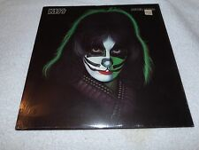 KISS LP SEALED PETER CRISS SOLO 1978 ORIGINAL FREE POSTER