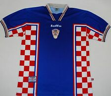1998-2001 CROATIA LOTTO AWAY FOOTBALL SHIRT (SIZE XL)