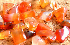 Tumbled Gemstone Crystal Fire Agate Chip Stone 5g drilled DIY Jewellery Craft