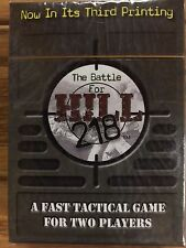 The Battle For Hill 218: A Strategy Game For Two Players