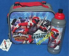 Power Rangers Operation Overdrive Insulated Lunch Kit Box Bag New Bonus Bottle
