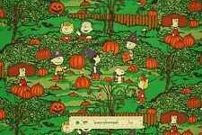New 2016 Peanuts Spooky Night Snoopy Halloween Fall Cotton Fabric  BTY (F2)