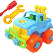 Phot Christmas Gift Kids Child Baby Boy Disassembly Assembly Classic Car Toy