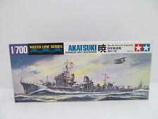 MES-44700 Tamiya 31406 1:700 Akatsuki Destroyer Bausatz geöffnet,
