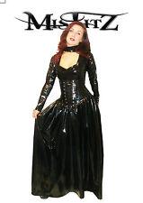 Misfitz pvc corset style gothic countess ballgown, sizes 8-32/made to measure