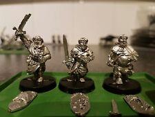 Warhammer fantasy age of sigmar bretonnian grail pilgrims x3 metal oop rare lot2