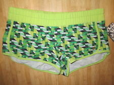 NEW* Hurley BOARD SHORTS BIKINI Cover Ladies S $50 RV Green Phantom Beachrider