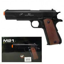 Double Eagle M1911 Replica  Airsoft Spring pistol M21 military style gun 1911