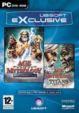 "AGE OF MYTHOLOGY GOLD EDITION ""BRAND NEW AND SEALED"""