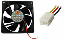 90mm 9cm Fan Computer PC CPU Cooler Casefan 3 Pin, Black 90 x 90 x 25mm Wide