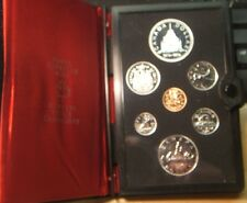 1976~~CANADA 7 piece DOUBLE DOLLAR PROOFLIKE SET~~PROOFLIKE-BU SILVER