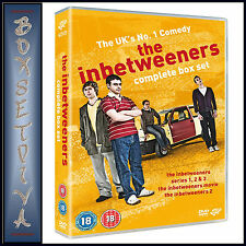 THE INBETWEENERS - COMPLETE COLLECTION- SERIES 1 2 & 3 PLUS 2 MOVIES *BRAND NEW