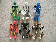 Lego Bionicle Assembled TOA MATA Figures 8531-8536 no instructions THE ORIGINAL