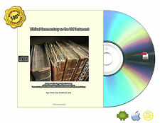 Biblical Commentary on the Old Testament by C.F.Keil and F. Delitzsch Vol Set CD