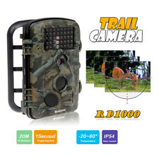 RD1000 720P Infrared Trail Scouting Camera Game Hunting 940nm No-glow 42 LED