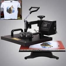 38x29cm Swing Heat Press Machine Tshirt Photo Printing Sublimation Flat Transfer