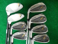 New LH Taylormade Rocketbladez HL 3H-PW combo Iron set steel/graph regular