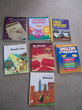 7 Workbooks TEACHERS Teaching Resources READING WRITING SPELLING BOOKS Gr 4-6