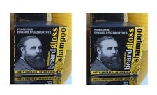 2X Fuzzworthy Mens Beard Moustache Shampoo Wash Care Conditioner 100% Natural