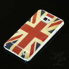 Samsung Galaxy S2 PLUS / i9105P Hard Case Schutz Hülle Handy Etui England Flagge