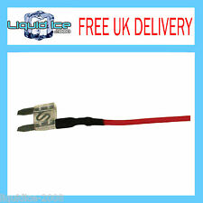 X 10 OFF MFS25A 25 AMP MINI SPUR BLADE FUSE LEAD CABLE FOR CAR VAN BUS VEHICLE