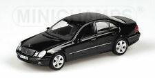 Minichamps 2006 Mercedes E320 Gloss Black 1:43 1008 pcs New!