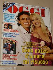 OGGI=2007/21=MARIA TERESA RUTA=ALEX ZANARDI=BLELLO=CASOLE D'ELSA=LENO=STROPPIANA