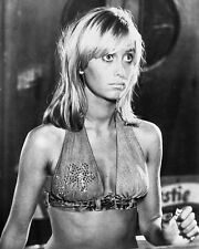SUSAN GEORGE DIRTY MARY CRAZY LARRY 8X10 PHOTO DENIM BIKINI TOP SEXY