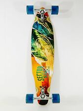 Sector 9 Chamber 8.1 x 33 Drop Thru Kicktail Longboard Complete