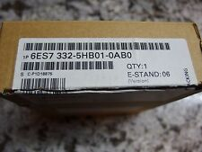 New In Box SIEMENS 6ES7 332-5HBO1-OABO