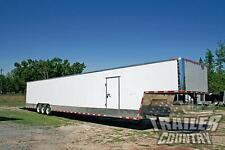 NEW 2016 8.5X52 8.5 X 52 ENCLOSED GOOSENECK CARGO CAR HAULER TOY TRAILER LOADED