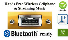 1947-53 Chevy Truck AM FM Bluetooth New Stereo Radio iPod USB Aux inputs, 300w
